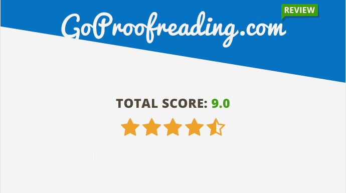 Goproofreading.com Review