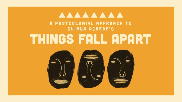 things fall apart by chinua achebe english literature essay Essay things fall apart essay: things fall apart vincent ruelle english honors 2nde two completely different cultures and ways of life are brought together in chinua.